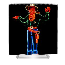 Wendover Willie Shower Curtain by Jeff Swan
