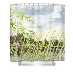 West Bay Napanee River Shower Curtain