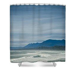 West Coast Exposure  Shower Curtain