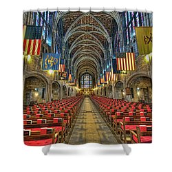 West Point Cadet Chapel Shower Curtain