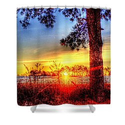 West Tennessee Sunrise Shower Curtain