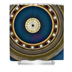 West Virginia State Capital Dome Hdr Shower Curtain