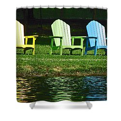 Westchester Adirondacks Shower Curtain