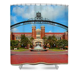 Westcott Gateway Arch - Fsu Shower Curtain