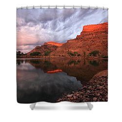Shower Curtain featuring the photograph Western Colorado by Ronda Kimbrow