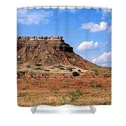 Lone Peak Mountain Shower Curtain