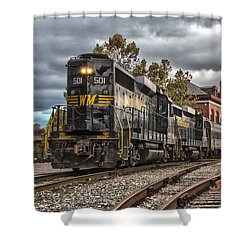 Western Maryland Scenic Railroad Shower Curtain