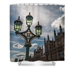 Shower Curtain featuring the photograph Westminster by Matt Malloy