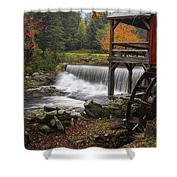 Weston Grist Mill Shower Curtain