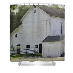 Westport Barn Shower Curtain