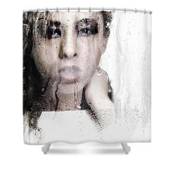 Wet Shower Curtain