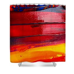 Wet Paint 123 Shower Curtain
