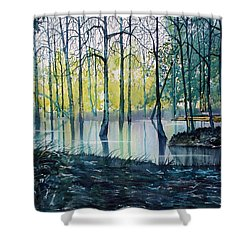Wetlands On Skipwith Common Shower Curtain