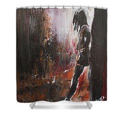 We've Got Your Back Shower Curtain by Lucy Matta