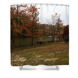 What A Beauitful Day Shower Curtain