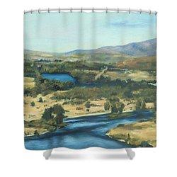 What A Dam Site Shower Curtain