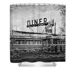 Shower Curtain featuring the photograph What Is On The Menu by Debra Fedchin