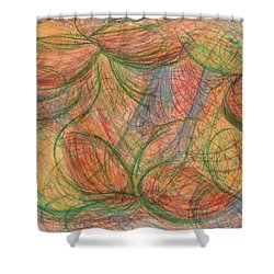 What Is Real? Shower Curtain by Kelly K H B
