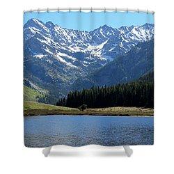 Beautiful Colorado Shower Curtain