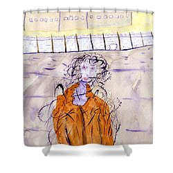What Now Shower Curtain