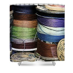 Spools Of Thread Shower Curtain