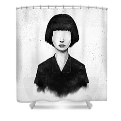 What You See Is What You Get Shower Curtain by Balazs Solti