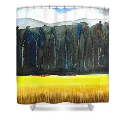 Wheat Field 2 Shower Curtain