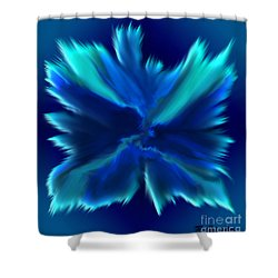 Shower Curtain featuring the digital art When Angels Are Born - Spiritual Art By Giada Rossi by Giada Rossi
