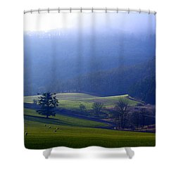 When Dawn Breaks Shower Curtain