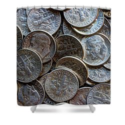 When Dimes Were Made Of Silver Shower Curtain by Heidi Smith