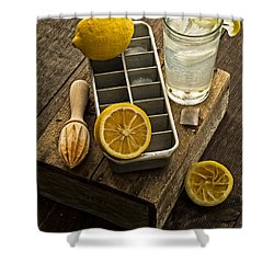 When Life Gives You Lemons... Shower Curtain by Edward Fielding