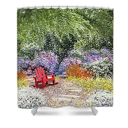When May Comes Shower Curtain by Kume Bryant