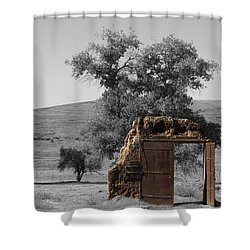 When One Door Closes Shower Curtain