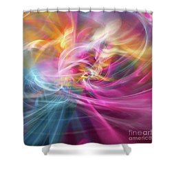 When Prayers Enter The Throne Room Shower Curtain