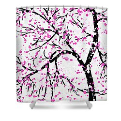 When Spring Comes Shower Curtain by Kume Bryant