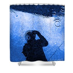 When The Rain Comes Shower Curtain by Robyn King