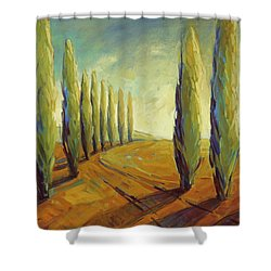 Where Evening Begins 1 Shower Curtain