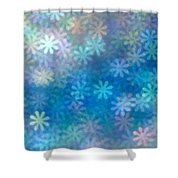 Where Have All The Flowers Gone Shower Curtain by Dazzle Zazz