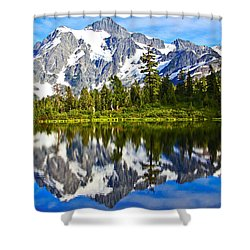 Shower Curtain featuring the photograph Where Is Up And Where Is Down by Eti Reid