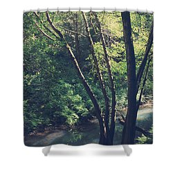 Where It's Shady Shower Curtain by Laurie Search
