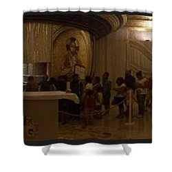 Where San Pio Rests Shower Curtain