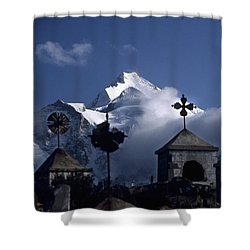 Where Spirits Roam Shower Curtain by James Brunker