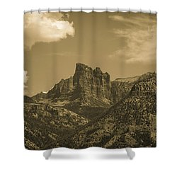 Where The Eagles Live Shower Curtain