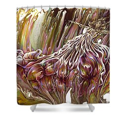 Where The Soul Takes Me Shower Curtain by Karina Llergo