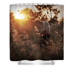 Where We Start Shower Curtain by Taylan Apukovska