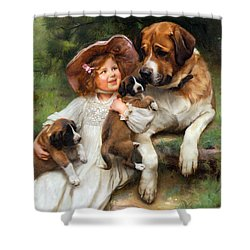 Which May I Keep Shower Curtain by Arthur John Elsley