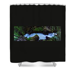 Shower Curtain featuring the photograph Which Way by David Andersen