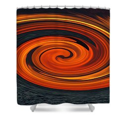 Shower Curtain featuring the photograph Whirlpool by Aimee L Maher Photography and Art Visit ALMGallerydotcom