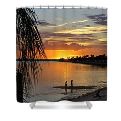 Shower Curtain featuring the photograph Whiskey Joe's by Laurie Perry