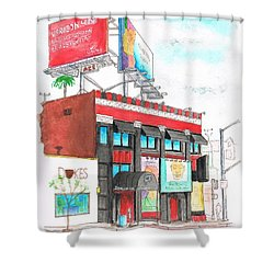 Whisky-a-go-go In West Hollywood - California Shower Curtain